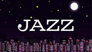 Black Night JAZZ - Exquisite Saxophone JAZZ &  Lights of Night City - Night Traffic JAZZ