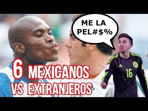 6 Jugadores Mexicanos En El Tri Que Se Bronquearon Con Un Extranjero Boser Salseo