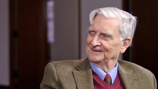 E.O. Wilson explains the meaning of human existence, in 6 minutes.