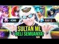 Download Mp3 SULTAN ML BACK! LANGSUNG BELI SEMUA SKIN LEGENDS TOTAL? 50.000 DIAMOND! - Mobile Legends Indonesia