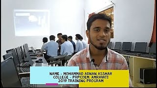 Mohd. Adnan Asshar's Live Review of Training program...