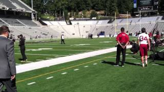 Stanford at Army: pregame sights and sounds, Sat. Sept. 14, 2013