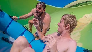 BANNED FROM DUBAI WATERPARKS!