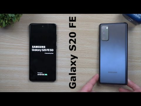 Samsung Galaxy S20 Fe Official Hands On Leak Youtube