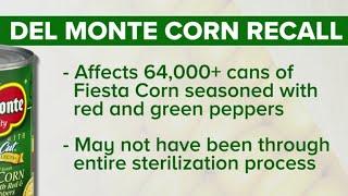 Del Monte corn recall, and other MoneyWatch headlines