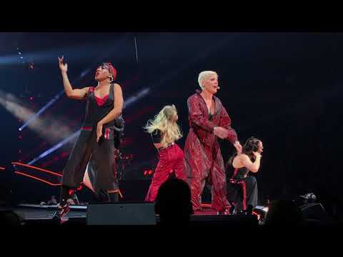 Pink - Raise Your Glass - P!NK Beautiful Trauma Tour  - Indianapolis March 17, 2018