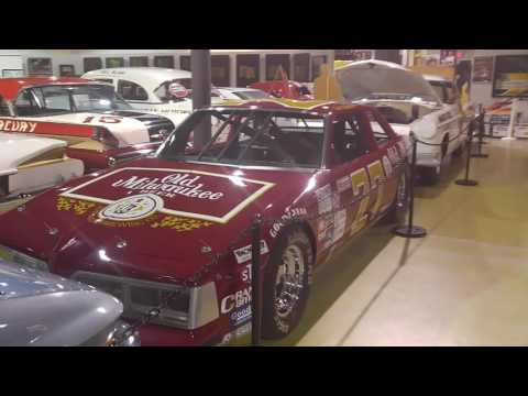Visit to the N.C. Auto Racing Hall Of Fame. Vintage Nascar