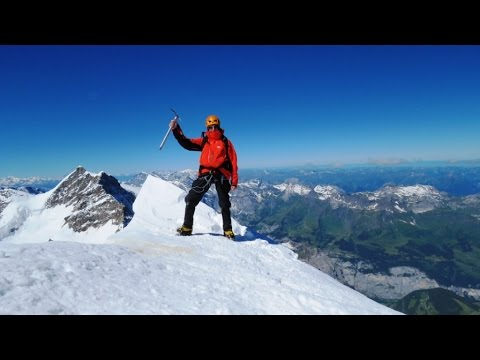 Switzerland, climbing   Monch 4107 m. - Solo - 2016