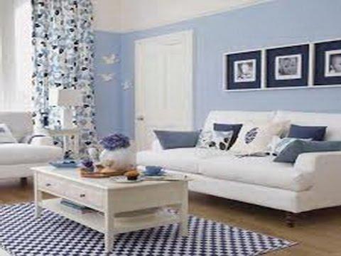 Soft Blue Curtains
