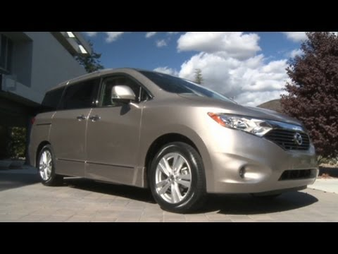 2011 Nissan Quest 35 Sl Youtube