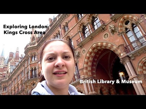 Exploring London! | British Library, Museum and King's Cross Station | Steff Hanson