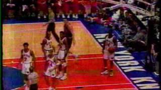 95/96: Bulls vs Knicks-Van Gundy's 1st win as Knicks coach 1