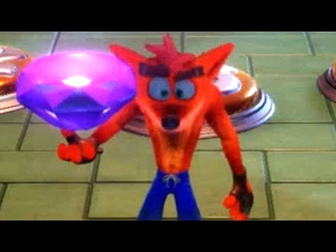 Crash Bandicoot N. Sane Trilogy - How to get ALL colored Gem
