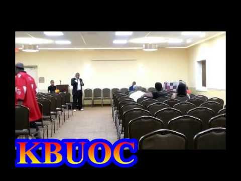 KBUOC MINISTRY STAY IN THE BATTLE REVIVAL GODS CREATION DARNELL AND C HRIS