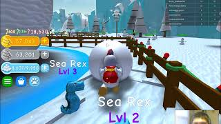 MERRY CHRISTMAS EVERYONE!!! | Snowman Simulator | Roblox