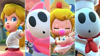 Mario Kart Tour - All Valentine's Tour Characters