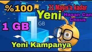 Turkcell 1 GB Yeni Kampanya, Turkcell Bedava İnternet