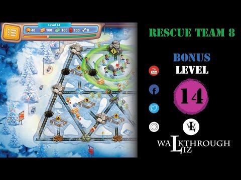 Rescue Team 8 - Bonus Level 14 Walkthrough  