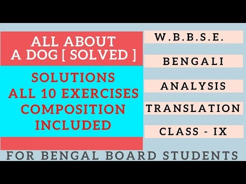 All About A Dog By A.G.Gardiner Answers Exercise Solution Class IX