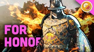 FLAMING CONQUEROR! - For Honor Gameplay