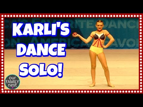 KARLI'S DANCE SOLO // HOW MANY TROPHIES DO THEY WIN?