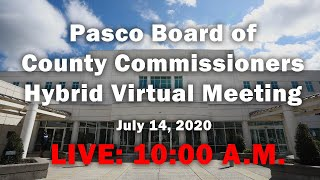 07.14.2020 Board Of County Commissioners  Bcc  Hybrid Virtual Meeting