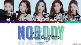 ITZY - 'NOBODY LIKE YOU' Lyrics [Color Coded_Han_Rom_Eng]