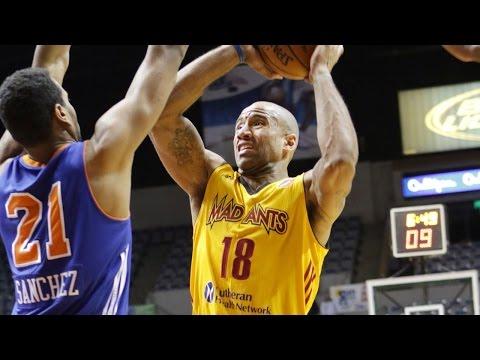 Dahntay Jones NBA D-League Highlights with Fort Wayne Mad Ants