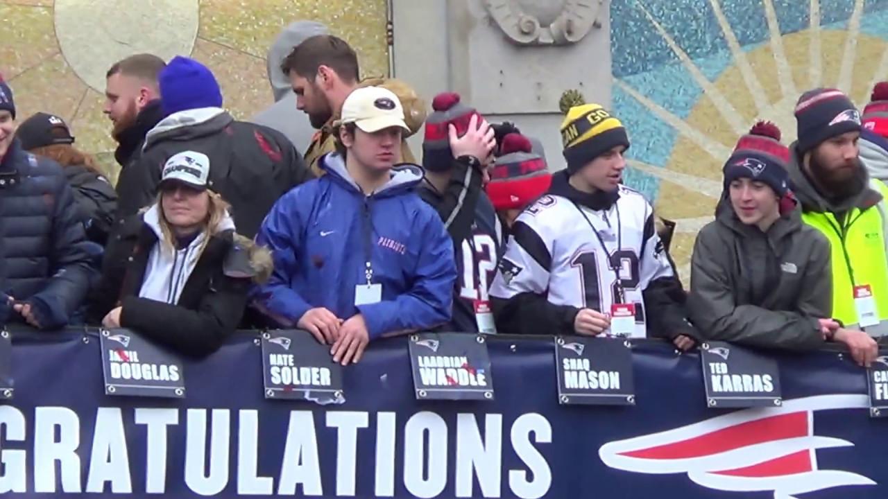 New England Patriots Superbowl 51 Victory Parade - YouTube bcc6e2d02