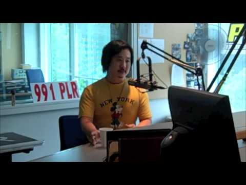 Bobby Lee in studio with Chaz & AJ on WPLR