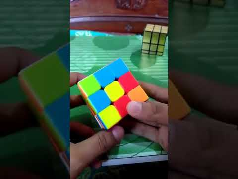 HOW TO SOLVE RUBIK CUBE WITHOUT ALGORITHM