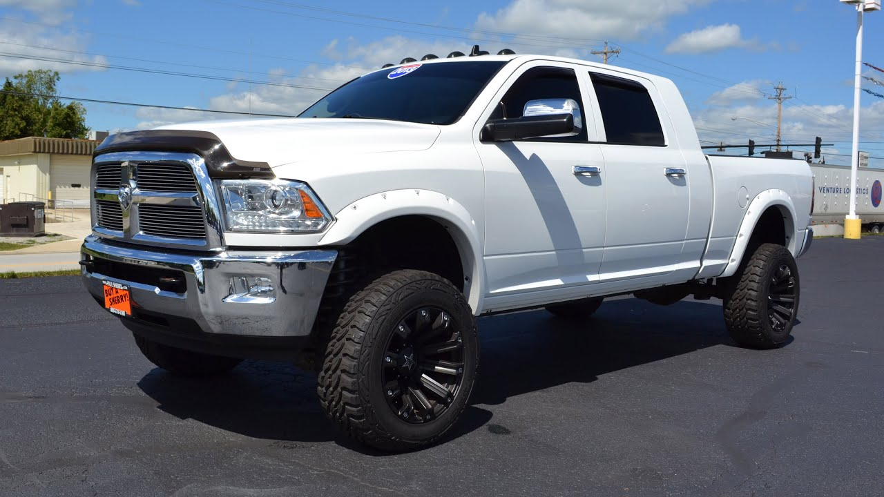 Ram 2500 Diesel For Sale >> 2013 Ram 2500 Laramie Longhorn Edition Mega Cab For Sale Dayton