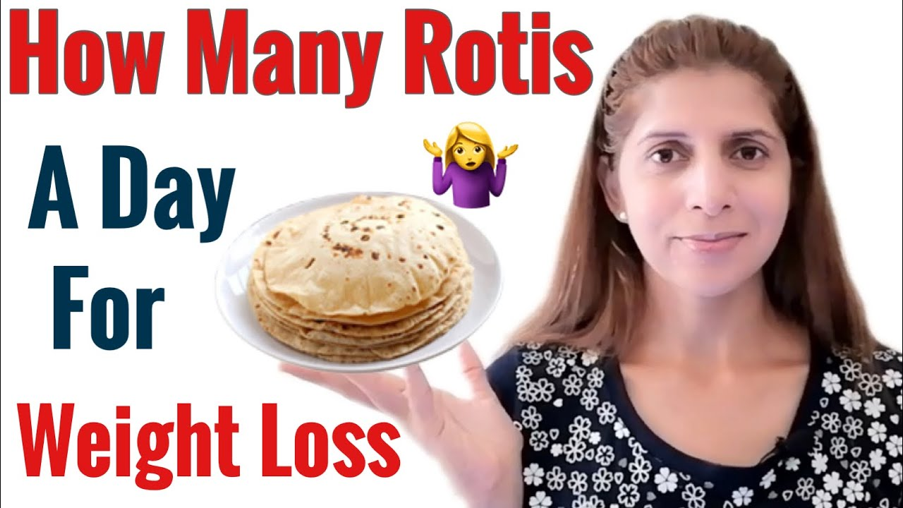 <div>How Many Rotis/ Chapatis a Day for Weight loss | Tips & Tricks of How to Eat Roti to lose Weight</div>