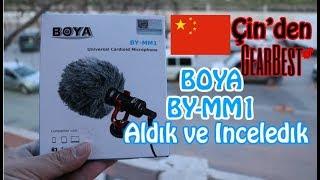 vLog için en ucuz çözüm BOYA BY-MM1 Mikrofon inceleme