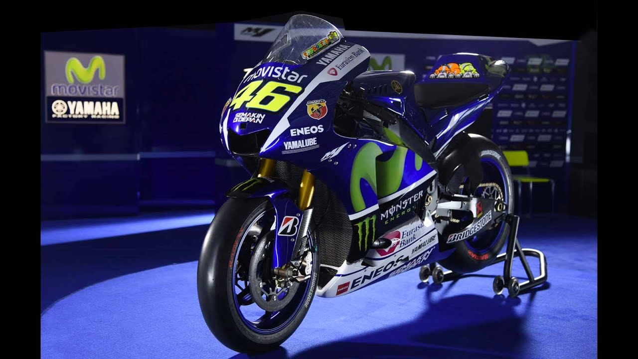 Rossi New Bike For 2015 Youtube