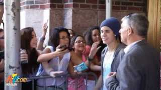Justin Bieber Tells 103.5FM KṪU How to Get Your Swag On - June 21 2012