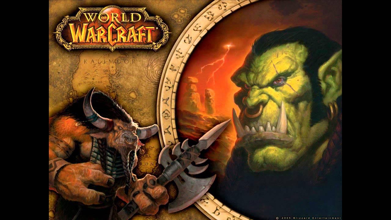 World Of Warcraft Alliance Horde Blue Red Black Lion Pc