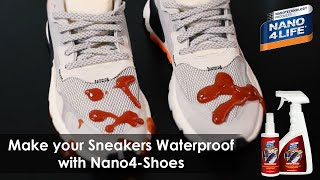 Make your sneakers waterproof with Nano4-Shoes | Nanotechnology products | by NANO4LIFE