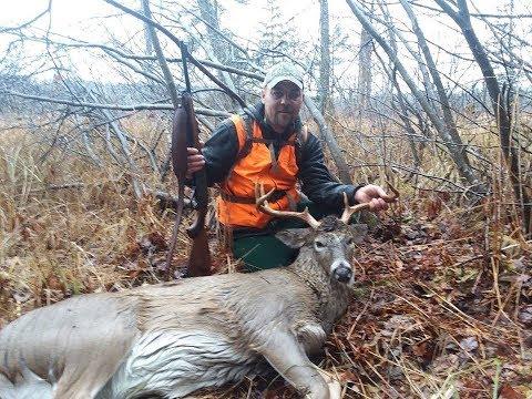 Maine Deer Season Pt  6 _ Swamp Buck Down! Persistence Pays Off!