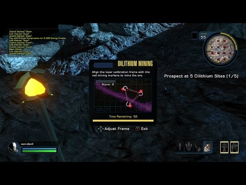 Star Trek Online, Xbox One Pt.52, Dilithium Mining Explained With Commentary