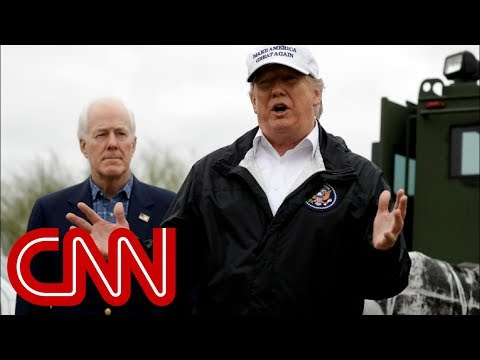 Brian Stelter: Trump's outfit echoes his thoughts on border