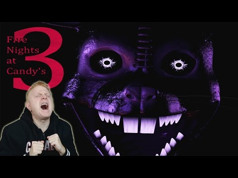 THE ULTIMATE CHALLENGE !! - FIVE NIGHTS AT CANDY'S 3 - SHADOW CHALLENGE  WITH ALL 3 MODES ACTIVATED