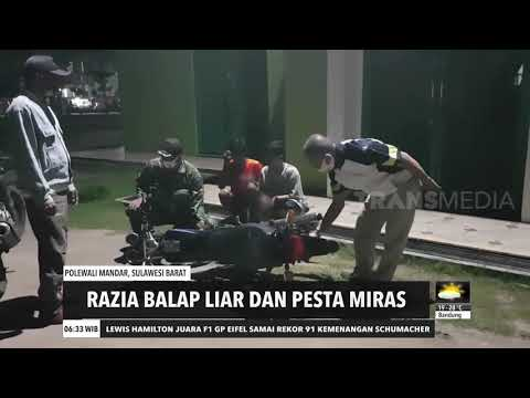 Razia Balap Liar Dan Pesta Miras | REDAKSI PAGI (12/10/20)