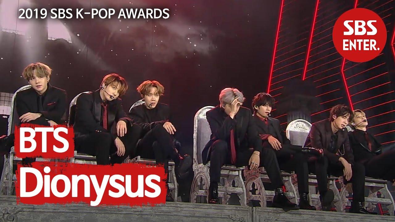 ※방탄에 취하다※ BTS - Dionysus @ 2019 SBS 가요대전
