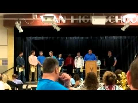 Vian High School Sports banquet 2015