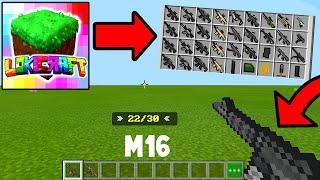 How To Make GUNS in Lokicraft (easy)