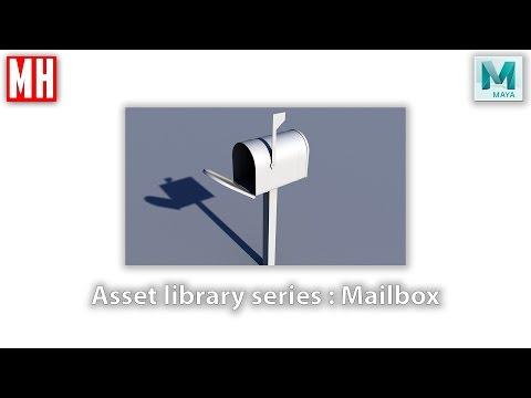 Building a 3D asset library Part 2 : Mailbox