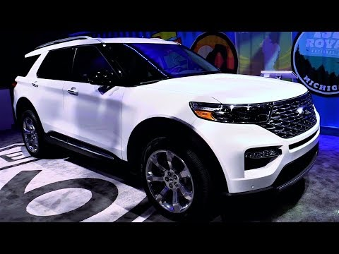 NEW - 2020 Ford Explorer Platinum 3.0L V6 400hp SUV Ecoboost - Exterior and Interior Full HD 60fps