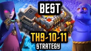 BEST STRATEGY at Th9 Th10 Th11 :: HOW TO EXPLOIT BASE WEAKNESSES :: Clash of Clans