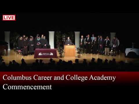 Columbus Career and College Academy Graduation 2017